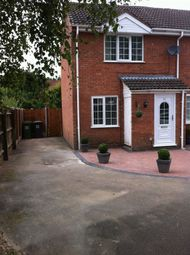 Thumbnail 1 bed terraced house to rent in Lordswood Close, Redditch