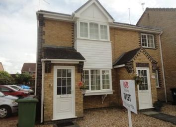 Thumbnail 2 bedroom end terrace house to rent in Moorhen Road, Whittlesey