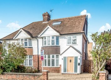 Thumbnail 4 bed semi-detached house for sale in Wendover Drive, Bedford