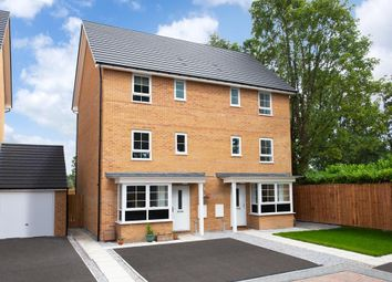 "Thumbnail 4 bed semi-detached house for sale in ""Hythe"" at Station Road, Methley, Leeds"
