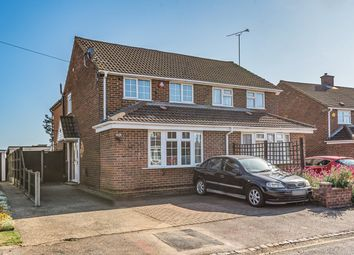 Thumbnail 3 bed semi-detached house for sale in Lyall Close, Flitwick