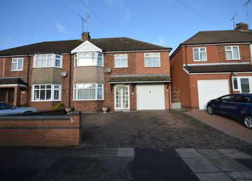 Thumbnail 4 bed semi-detached house for sale in The Hiron, Styvechale, Coventry