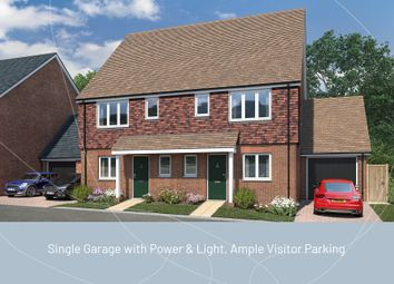 Thumbnail 2 bed semi-detached house for sale in Four Seasons, Horam, Heathfield