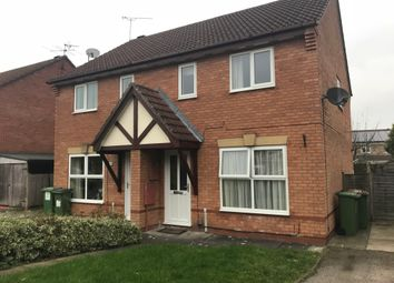 Thumbnail 3 bed semi-detached house to rent in Alder Close, Leicester Forest East