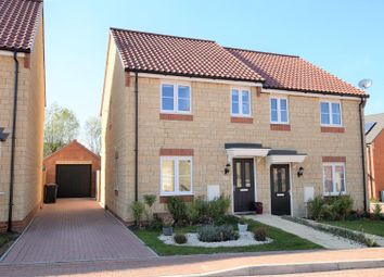 Thumbnail 3 bed semi-detached house for sale in North Brook Close, Greetham, Rutland