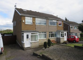 Thumbnail 3 bed semi-detached house for sale in Kent Close, Pudsey