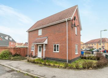 Thumbnail 2 bed semi-detached house for sale in Grantham Avenue, Great Cornard, Sudbury