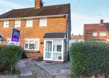 Thumbnail 2 bedroom semi-detached house for sale in Faraday Road, Walsall