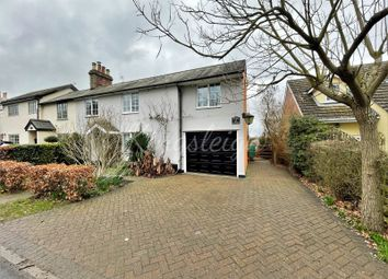 Thumbnail 4 bed semi-detached house for sale in Ivy Cottages, Long Road West, Dedham, Colchester