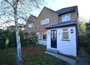 Thumbnail 3 bed semi-detached house to rent in Greenlands Road, Weybridge, Surrey