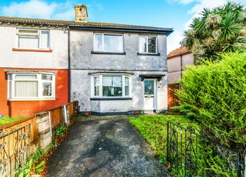 Thumbnail 3 bedroom end terrace house for sale in Dingle Road, North Prospect, Plymouth