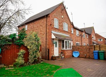 Thumbnail 3 bed semi-detached house for sale in Riverside Court, Goole
