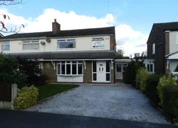 Thumbnail 3 bedroom semi-detached house to rent in Bentham Road, Culcheth, Warrington
