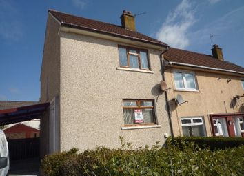 Thumbnail 2 bedroom semi-detached house to rent in St Margarets Avenue, Dalry, North Ayrshire