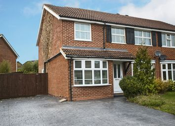Thumbnail 4 bed semi-detached house to rent in Ribbleton Close, Earley, Reading