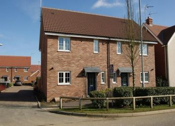 Thumbnail 3 bed semi-detached house to rent in Warwick Road, Little Canfield, Dunmow, Essex