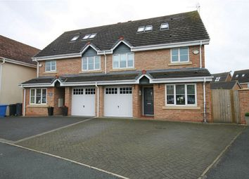 Thumbnail 5 bed semi-detached house for sale in Snowberry Crescent, Warrington