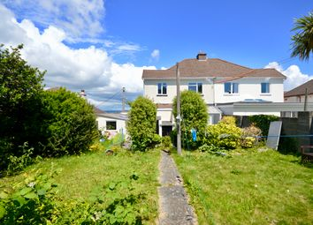 Thumbnail 3 bed semi-detached house for sale in Longview Road, Saltash