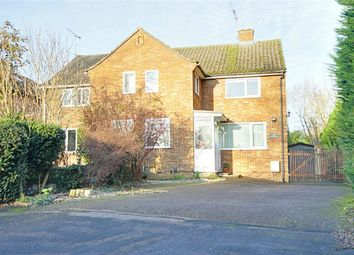 Thumbnail 3 bed semi-detached house for sale in Sheering Mill Lane, Sawbridgeworth, Hertfordshire