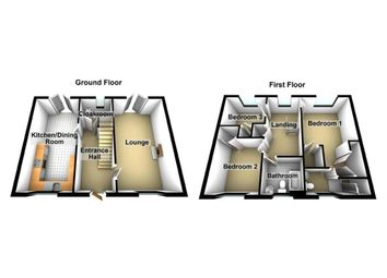 Thumbnail 3 bedroom detached house for sale in Mill Court, Crumlin, Newport