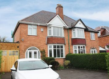 Thumbnail 3 bed semi-detached house to rent in Longmore Road, Shirley, Solihull