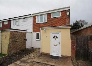 Thumbnail 2 bedroom end terrace house to rent in Somner Close, Canterbury