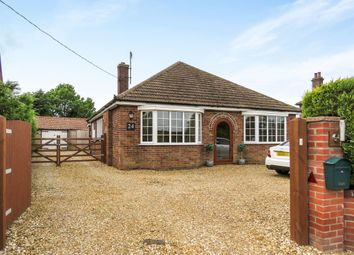 Thumbnail 3 bed detached bungalow for sale in Church Road, Wimbotsham, King's Lynn
