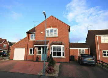 Thumbnail 4 bed detached house for sale in Militia Close, Wootton, Northampton
