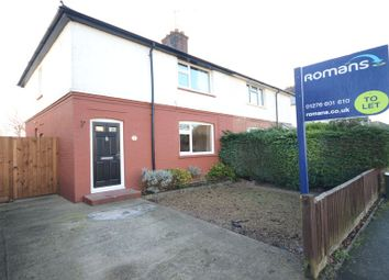 Thumbnail 3 bedroom semi-detached house to rent in Bristow Road, Camberley