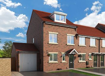 "Thumbnail 3 bed property for sale in ""The Oakhurst At Moorland View, Bishop Auckland"" at Flambard Drive, Bishop Auckland"