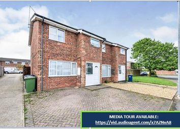 Thumbnail 3 bedroom semi-detached house for sale in Knowles Avenue, Warboys, Huntingdon