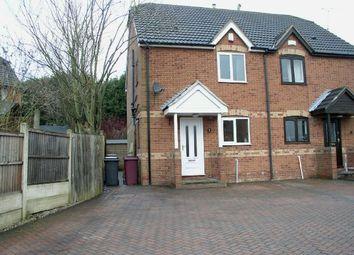 Thumbnail 3 bed semi-detached house for sale in Birchwood Lane, South Normanton, Alfreton