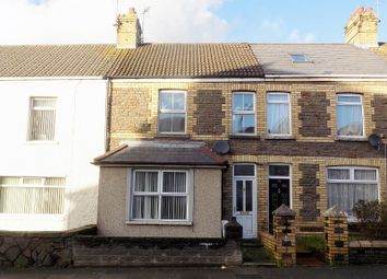 Thumbnail 3 bed terraced house for sale in Pisgah Street, Kenfig Hill, Bridgend.