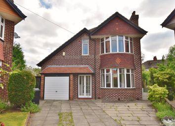 Thumbnail 3 bed detached house for sale in Grange Avenue, Flixton, Urmston, Manchester