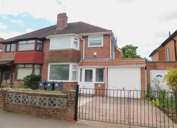 Thumbnail 3 bed semi-detached house to rent in West Park Avenue, Northfield, Birmingham