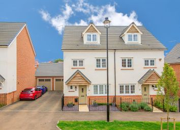 Thumbnail 4 bedroom semi-detached house for sale in Manor Road, Barton Seagrave, Kettering
