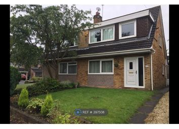 Thumbnail 3 bed semi-detached house to rent in Chelford Close, Altrincham