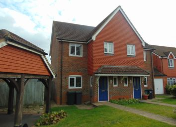 Thumbnail 3 bed semi-detached house to rent in Galloway Drive, Kennington, Ashford
