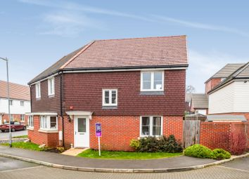 3 bed semi-detached house for sale in Moorhen Road, Maidstone ME15