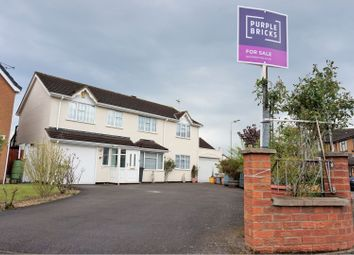 Thumbnail 5 bed detached house for sale in Peldon Close, Leicester