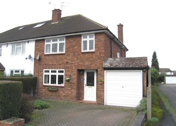Thumbnail 3 bed semi-detached house for sale in Mead Way, Bushey