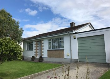 Thumbnail 3 bedroom detached bungalow to rent in Trevelyan Way, Goldsithney, Penzance