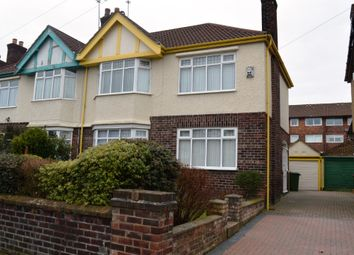 Thumbnail 3 bed semi-detached house to rent in Beverley Road, Wallasey, Wirral