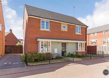 Thumbnail 4 bed detached house for sale in Vale Drive, Hampton Vale, Peterborough