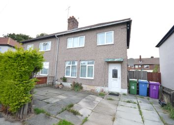 Thumbnail 3 bed semi-detached house for sale in Verney Crescent, Allerton, Liverpool