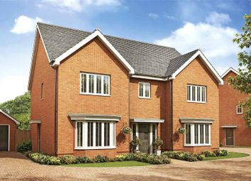 Thumbnail 5 bed detached house for sale in Heather Gardens, Off Back Lane, Hethersett, Norwich