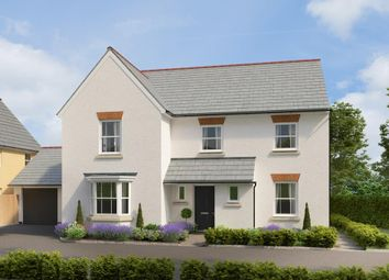 "Thumbnail 5 bed detached house for sale in ""Manning"" at Post Hill, Tiverton"
