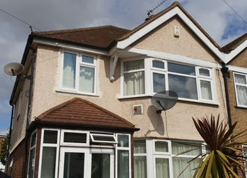 Thumbnail 3 bed semi-detached house to rent in Iverna Gardens, Feltham, Middlesex