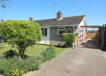 Thumbnail 2 bed semi-detached bungalow for sale in Carisbrooke Avenue, Great Clacton, Clacton On On Sea