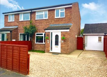 Thumbnail 3 bed semi-detached house for sale in Heatherset Way, Red Lodge, Bury St. Edmunds